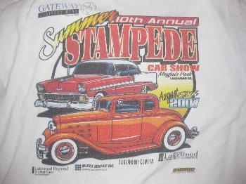 t shirt summer stampede 2007